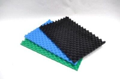 Egg Box Type Foam Pond Filter Replacement Pads x 3 Layers