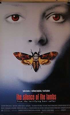 Silence of the Lambs Movie Poster - Original Double Sided - Jodie Foster