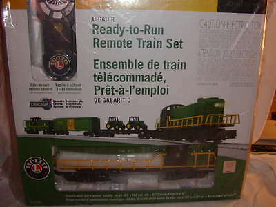 Lionel 6-81480 John Deere RS3 LionChief Remote Freight Train Set MIB O 027 New