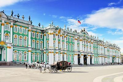 STATE HERMITAGE MUSEUM GLOSSY POSTER PICTURE PHOTO saint petersburg russia 1201