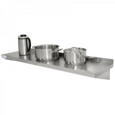 Stainless Steel Wall Shelf, 1200x300mm, Vogue, Commercial Equipment