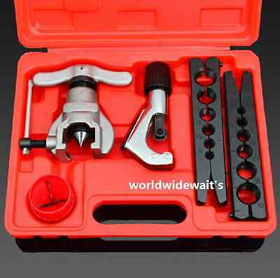 4 Pcs/1 Set Brand New Flaring Tool Kit Pipe Tube Cutter 4-28MM