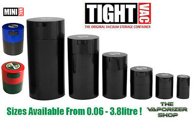 Tightvac All Sizes - Vacuum Seal Waterproof Smell Smelly Proof Tub Stash Spice