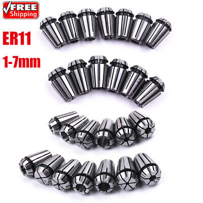 1-7mm Clamping ER11 Spring Collet CNC Chuck for Milling Drilling Sculpture Tool
