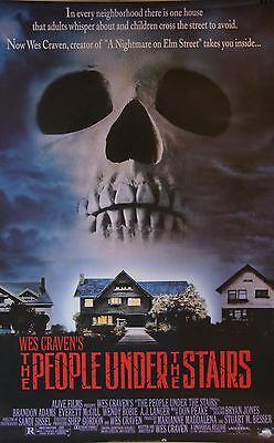 The People Under the Stairs 1991 Movie Poster