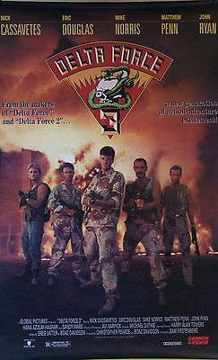 Delta Force 3 1991 Movie Poster