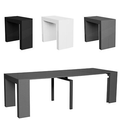 Table Console Extensible Xl  4 Allonges 2M50 Neuf