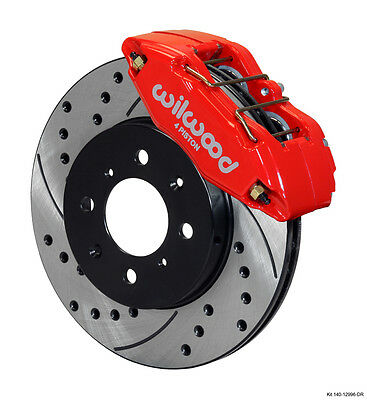 Wilwood 140-12996-DR DPHA Caliper and Rotor Kit - Front