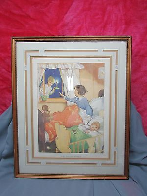 WEE WILLIE WINKIE Childs Art Print / Lithograph.Nice 4 Nursery,Great Color,
