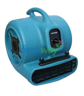 XPower X-800C Heavy Duty Air Mover 1HP 3.0A 700W 3200CFM Multi-Cage Dryer Blower