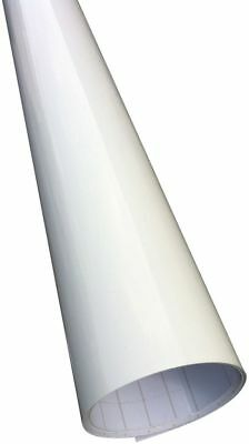 Gloss Vinyl Car Wrap White (Air/Bubble Free) 1520mm x 300mm