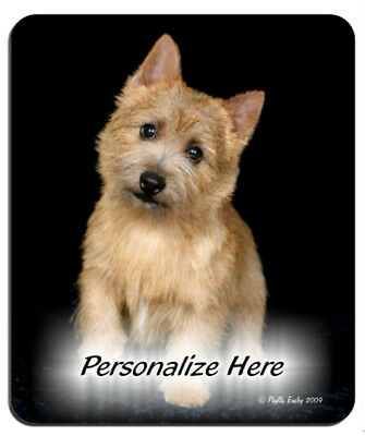 Norwich  Terrier  ( 18 )   Personalized  Mouse Pad