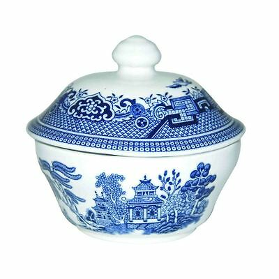Churchill Blue Willow - Covered Sugar Bowl