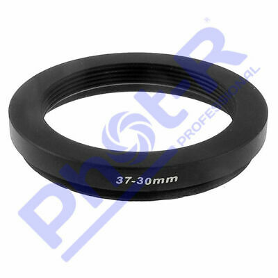 Phot-R 37-30mm Metal Stepping Step-Down Ring Camera Filter Lens Adapter DSLR SLR
