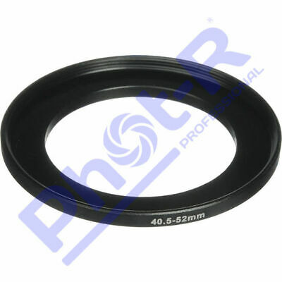 Phot-R 40.5-52mm Metal Stepping Step-Up Ring Camera Filter Lens Adapter DSLR SLR