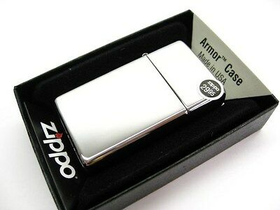 ZIPPO Slim Size High POLISH Chrome Armor Windproof Lighter! 1603