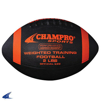 Champro 2 Pound Weighted Training Football - Official Size - High School