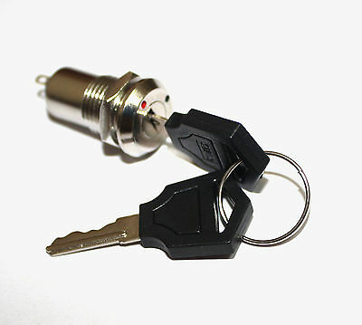 K3 Key Switch ON /OFF Lock Switch Two Keys Key Set Mini Key Switch Ignition fu