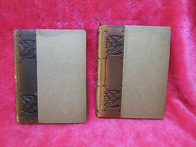 2 Elbert Hubbard Books Roycroft, Little Journeys to the Homes of Eminent Artists