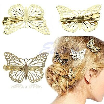 Chic Lady Girl Butterfly Claw Hairpin Women Hair Clamp Accessory Clip Headpiece