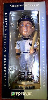 """2002 MLB Forever Collectibles New York Yankees GIAMBI """"MINT In Box"""" Bobblehead"""
