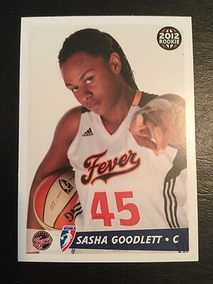 2012 WNBA Sasha Goodlett Indiana Fever RC R9 Only 400 Produced