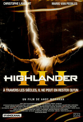 Highlander Iii / Christophe Lambert /*/ Dvd Fantastique Neuf/Cello