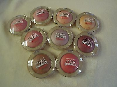 Maybelline Dream Bouncy Blush ~ New and Sealed ~ Choose from 10 Beautiful Colors