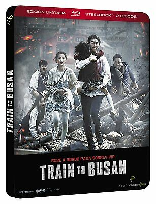 Train To Busan Blu Ray Steelbook Edicion Metalica Nuevo ( Sin Abrir )
