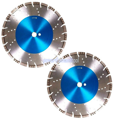 "2PK-12"" ALL CUT PRO Reinforce Concrete Brick Stone Pipe Diamond Saw Blade-Best"