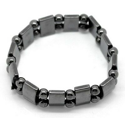 Magnetic Hematite Bracelet  Arthritic Pain and Blood Pressure 18cm (B20082)