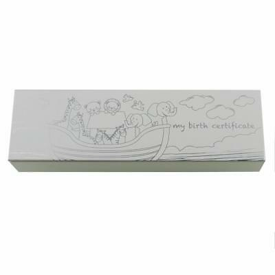 Noah's Ark Collection - Baby Birth Certificate Holder New Boxed CG1155