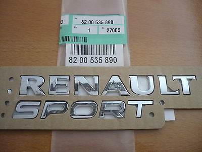 new genuine renaultsport clio iii 197 200 cup rs rear back spoiler renault sport. Black Bedroom Furniture Sets. Home Design Ideas