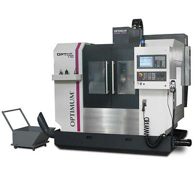 OPTIMUM F 150TC - Premium CNC Fräsmaschine