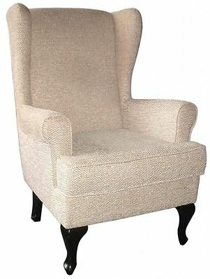 """NEW Paris Orthopaedic Arm Chair Winged High Back Chair - 19"""" or 21"""" Seat Height"""