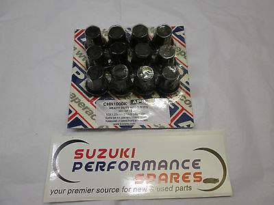 Suzuki APE GSF1200 Bandit Cylinder head Nuts. Super heavy Duty!