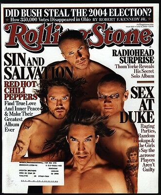 2006 RED HOT CHILI PEPPERS ROLLING STONE Magazine *COVER ONLY*
