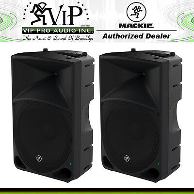 "Mackie Thump15 1000W 15"" Active/Powered DJ PA Portable Loud Speaker TH-15 (PAIR)"