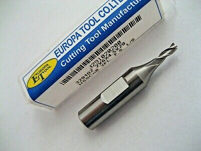 2mm HSSCo8 FC3 3 FLUTED SLOT DRILL END MILL EUROPA TOOL CLARKSON 3291020200  #85