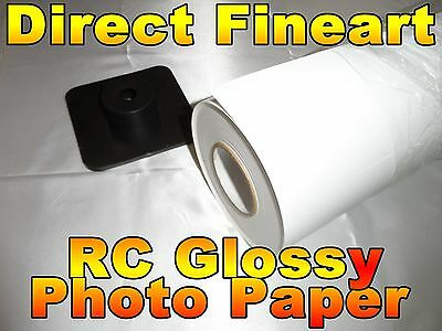 Premium RC Glossy Photo Paper Roll Inkjet canon hp epson picture 24 x 100 poster