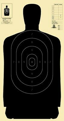 "Official NRA B-27 [B27] silhouette targets [23"" x 45""] (500 targets)"