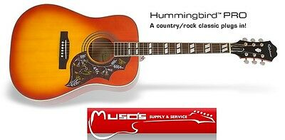 Epiphone Hummingbird PRO Acoustic/Electric gtr $649 +postage $10 Greater Sydney