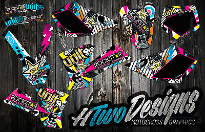 Ktm 50 2002-2008 Graphics Kit Decal Kit Stickers Graphic Kit Ktm50 Decals