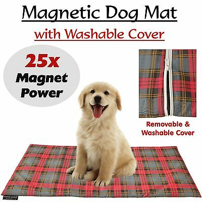Magnetic Therapy Pet Mat Waterproof Cat Dog Arthritis Health Kennel Bed Washable