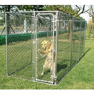 Galvanised 2 in 1 Dog Chicken Run Exercise enclosure Whelping pen - 15ft or 10ft