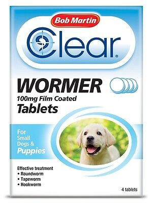 Bob Martin Clear Wormer Tablets for Puppies 100g