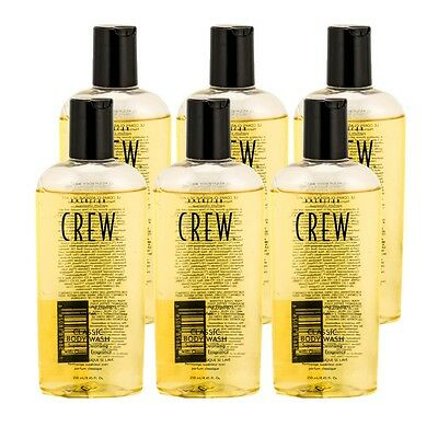 American Crew Classic Body Wash 8.45 oz PACK OF 6
