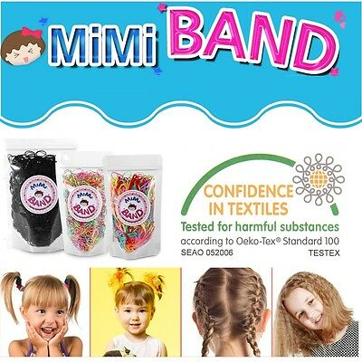 MiMi Band 50 g Hair Tie Band Ponytail Holder TPU Rubber Women Kids
