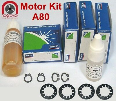 Studer A80 motor service kit for all 3 motors