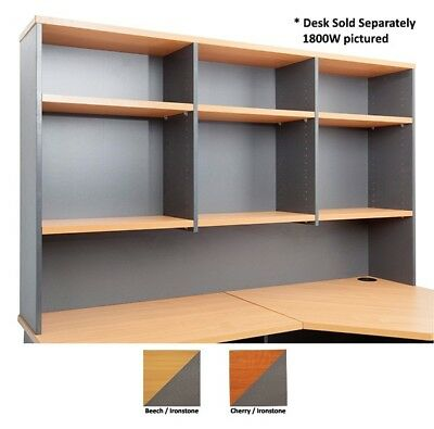 Rapidline Rapid Worker Overhead Hutch Bookcase Office Furniture